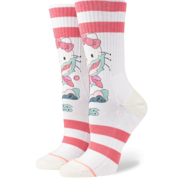 dceae979a Stance Accessories | Hello Kitty By Sanrio Full Bloom Crew Socks ...